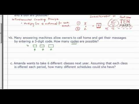Probability - Dependent and Independent Events