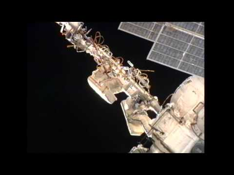 Station Crew Conducts Spacewalk