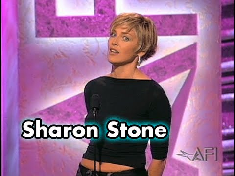 Sharon Stone Salutes Harrison Ford at the 28th AFI Life Achievement Award