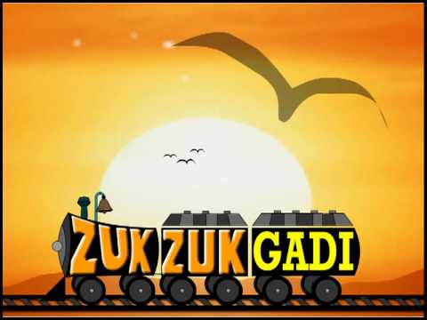 The Train High quality animated Rhymes (Zuck Zuck Ghadi Animated kidsone song)