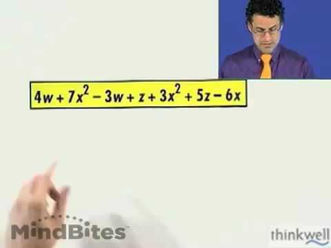 Pre-Algebra: Simplifying Algebraic Expressions