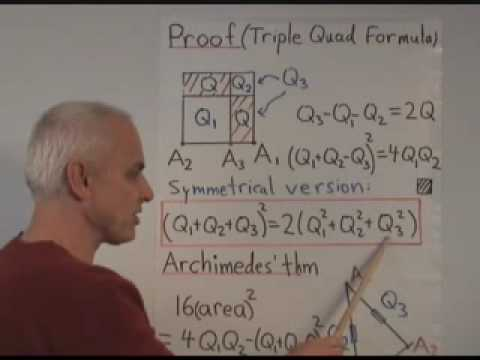 WildTrig2: Quadrance via Pythagoras and Archimedes
