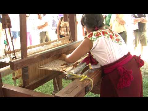 Traditional Zapotec Weaving at Smithsonian Folklife Festival 2010