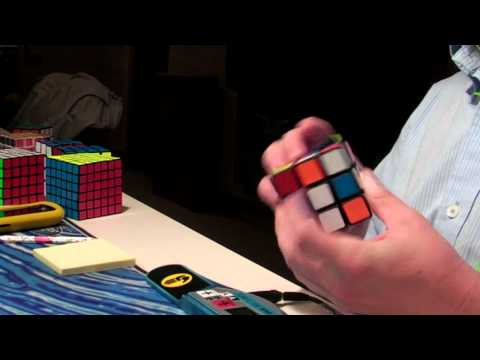 Rubik's Cube Weekly Average of 12: 21.20 (Color Neutral) (Week 9)