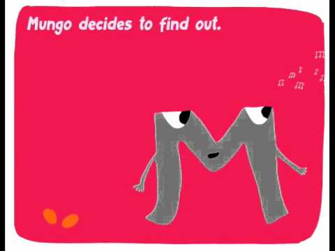 The alphabet for kids. Letter M: Mungo & the Mermaid