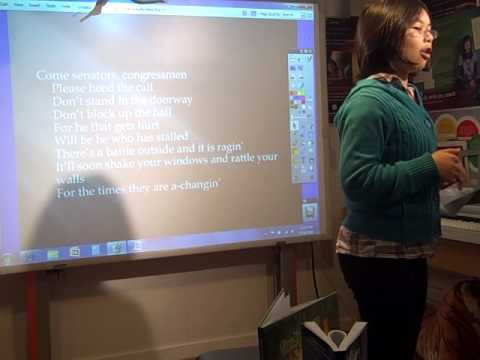 Teaching Reflective poetry to high school students/Bob Dylan's birthday