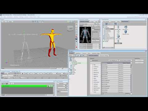 Using 3ds Max with Motionbuilder - Part 4 - CAT Rigs