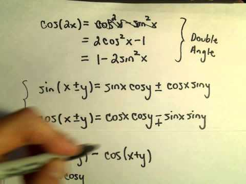 Trigonometric Identities: How to Derive / Remember Them - Part 3 of 3