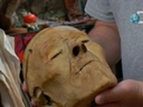 Oddities- Mummified Head