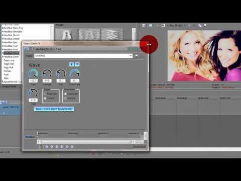 Sony Vegas Tutorial ll How To Get Rid Of Newblue FX Watermark