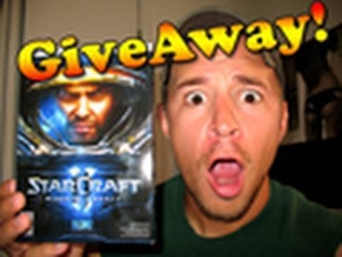 Super Awesome Giveaway Contest - Starcraft 2: Wings of Liberty!!! [HD]