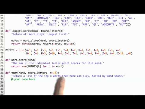 Top N Hands - CS212 Unit 6 - Udacity