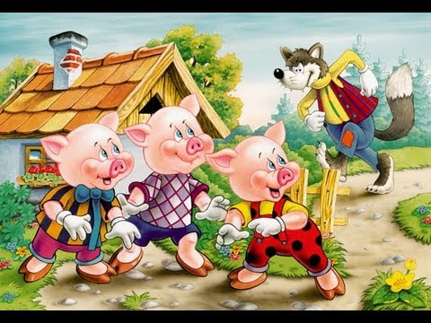 Three Little Pigs Felt Board Story Video by Cullen's Abc's