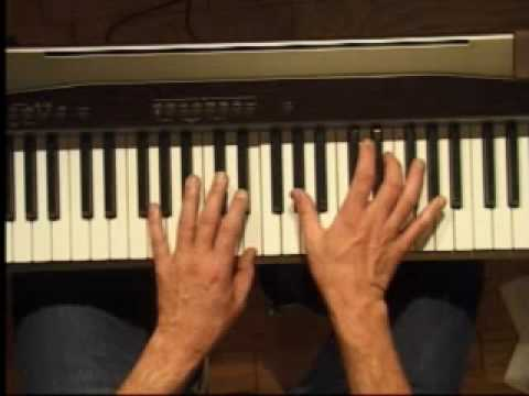 Piano Lesson - How to Play the E major scale (left hand)