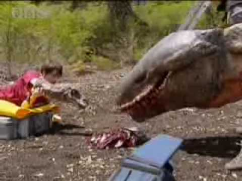 The Making Of Walking With Dinosaurs: Using Animatronics