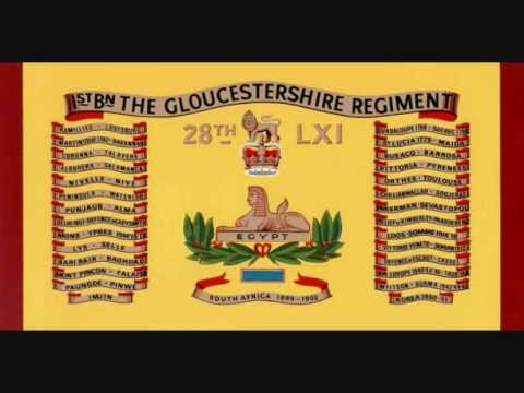 The Gloucestershire Regiment March