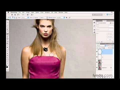 Photoshop tutorial: How to remove garment wrinkles | lynda.com