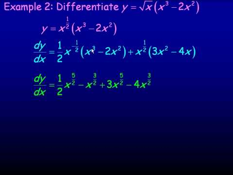The Product Rule.avi