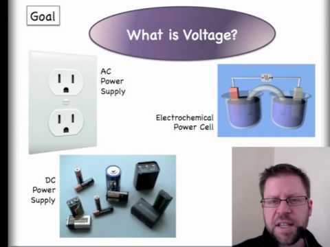 What is Voltage? Let's start here. Lesson 1 of 2