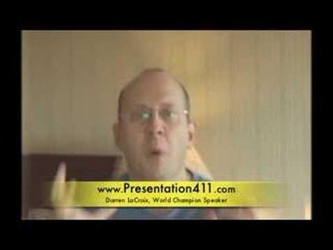 Presentation Skills Tip: Stupid Presentation Advice