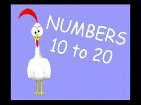 Numbers 10 - 20
