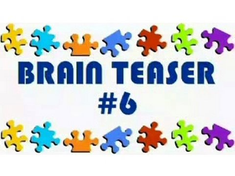 Video Brain Teaser #6