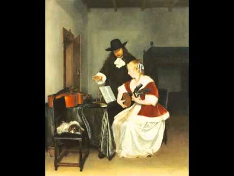 The Music Lesson, Gerard ter Borch