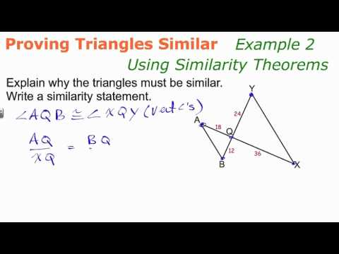 Proving Triangles Similar | Geometry How To Help