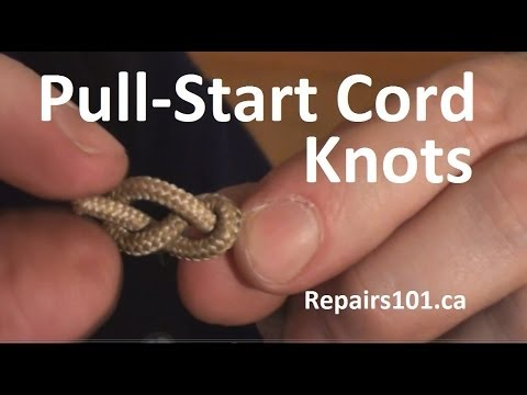 Pull-Start Cord Knots