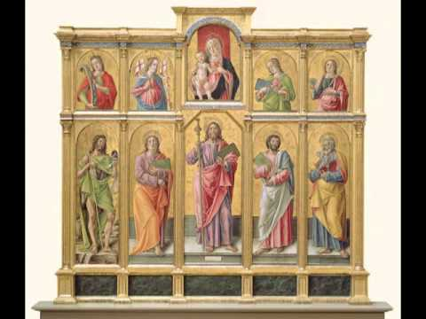 Polyptych with Saint James Major, Madonna and Child, and Saints, Bartolomeo Vivarini