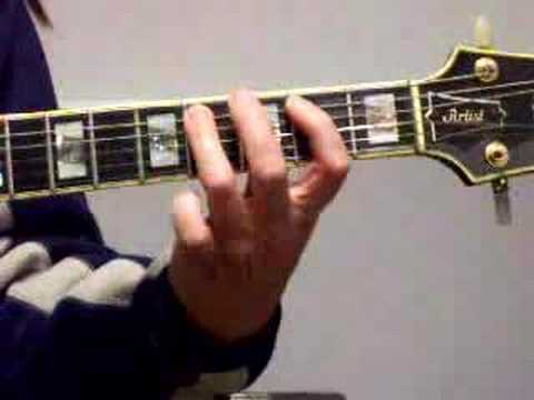 Odd time signatures and Erotomania guitar lesson Part 1