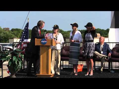 Shepard Honored at 50th Anniversary Celebration of Freedom 7 Flight