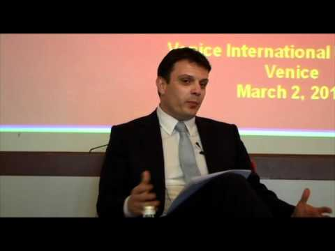 "VIU Lectio Magistralis 2011 ""Montenegro: Sustainable Tourism Development"" - Predrag Nenezic part 1"