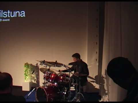 TEDxEskilstuna - Carl-Johan Hökdal - World Class Drummer