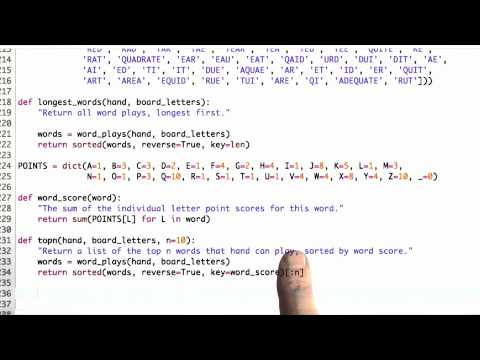 Top N Hands Solution - CS212 Unit 6 - Udacity