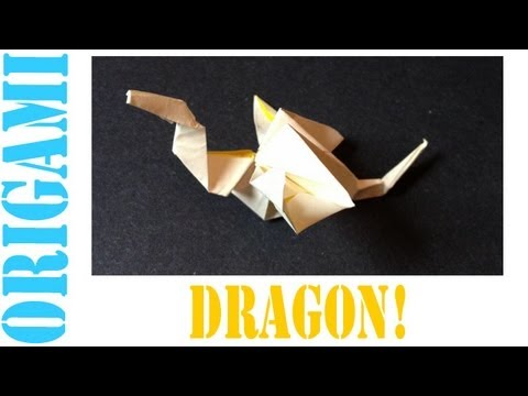 Origami Daily - 124: Winged Dragon - TCGames [HD]