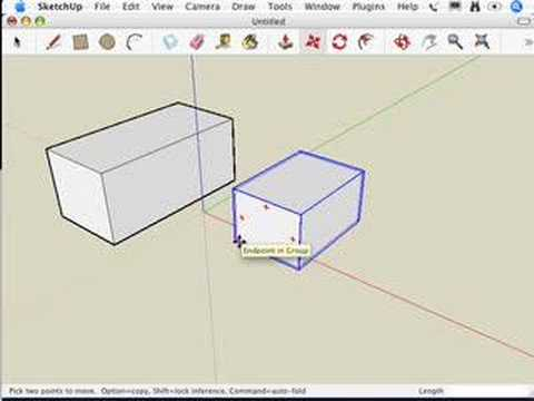 SketchUp: Grouping things together