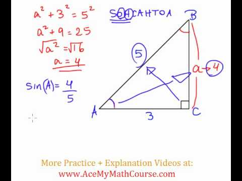 Solve the Right Triangle - Question #3