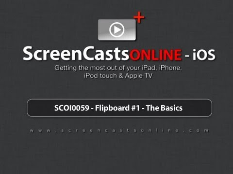 Trailer for SCOI0059 - Flipboard #1 - The Basics