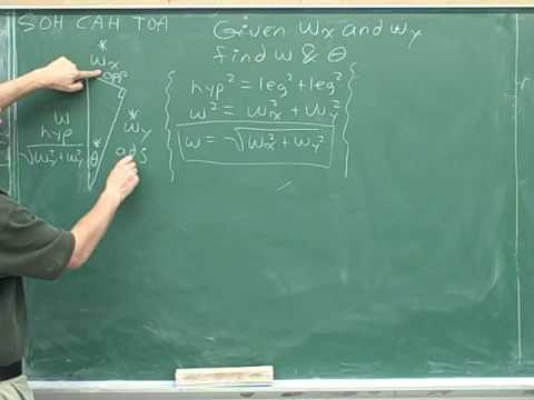 Physics: Vector components (34)
