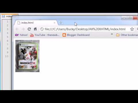 XHTML and CSS Tutorial - 10 - Resizing Images