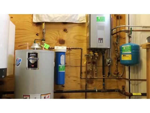 Plumbing How-To: Tankless vs. Tank Water Heaters