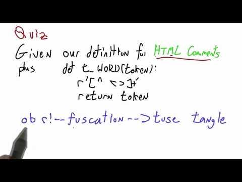 Token Counting - CS262 Unit 2 - Udacity