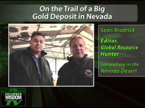 On the Trail of a Big Gold Deposit in Nevada
