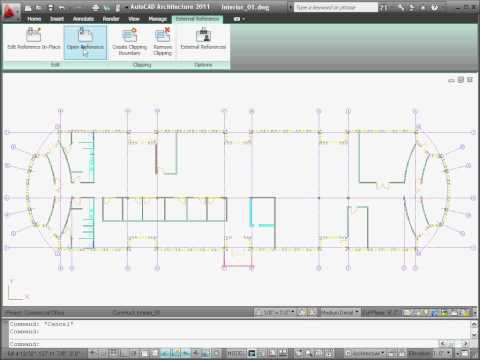 User Interface Tour: AutoCAD Architecture 2011 and AutoCAD MEP 2011