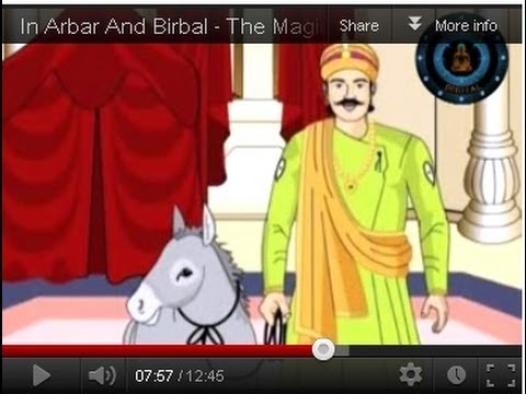 The Magical Donkey In Arbar And Birbal Vol 02 Hindi
