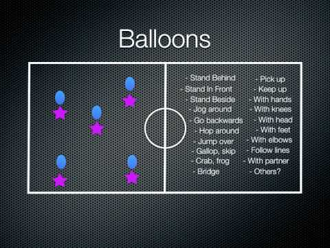 Physical Education Games - Balloons