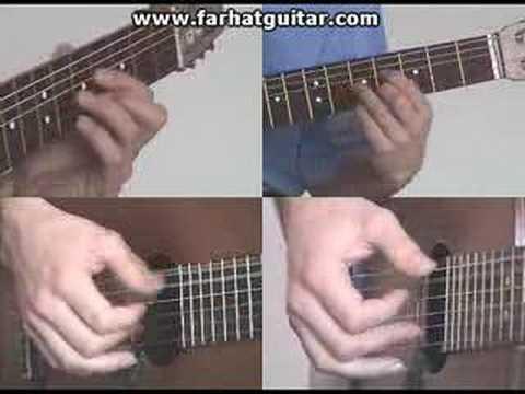 Right hand guitar exercise 11 - Mano Derecha Ejercicios