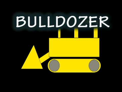 Vids4Kids.tv - Learn Shapes and Build A Bulldozer