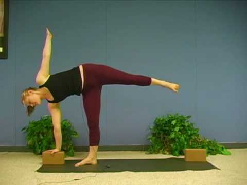 Yoga Poses w/ Sonja 7, Half Moon Pose, Ardha Chandrasana, Yoga for Beginners